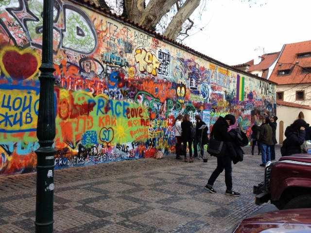 Czech Republic Prague John Lennon Wall