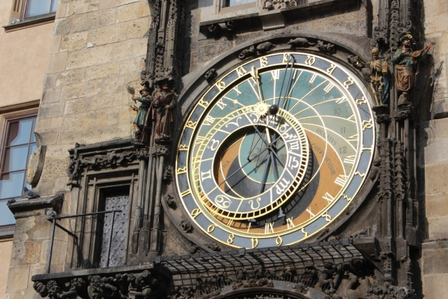 Czech Republic Prague Old Town Astronomical Clock