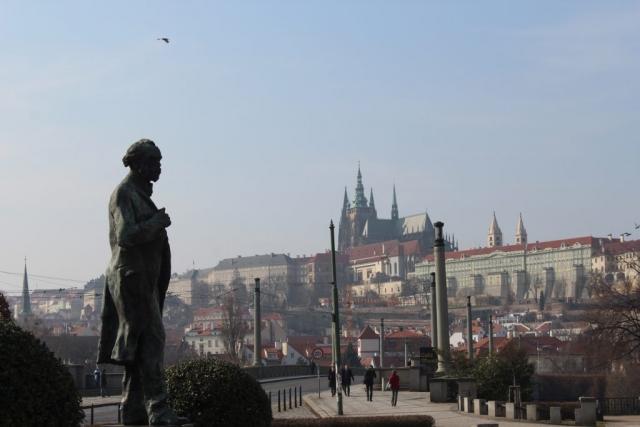 Czech Republic Prague Castle River