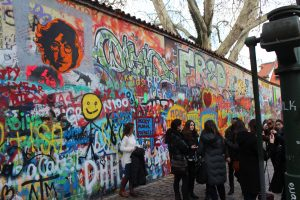 Prague Czech Republic John Lennon Wall