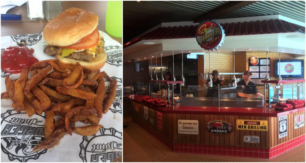 Carnival cruise line guys burgers