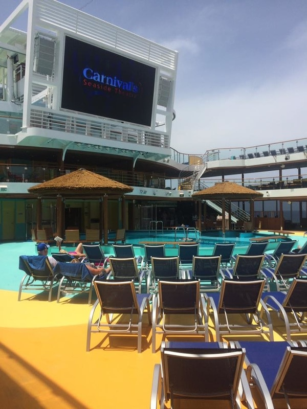 Carnival Vista Top Deck