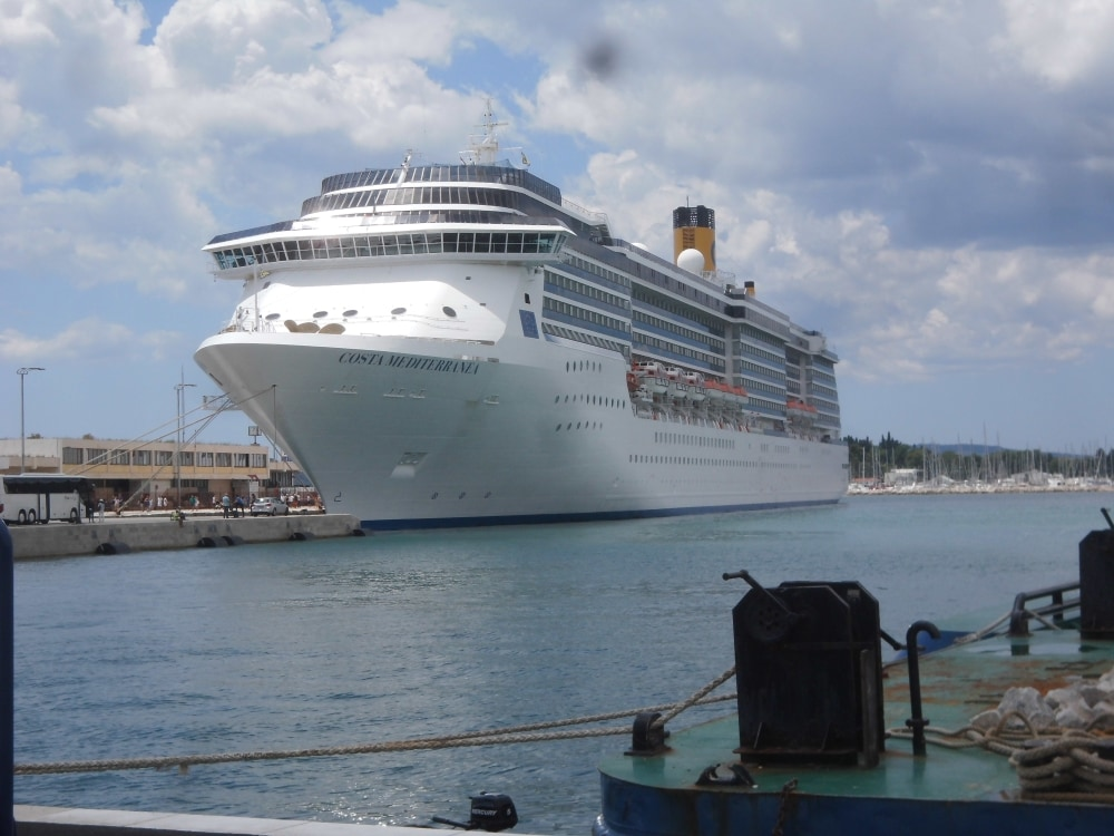 Costa cruises cruise ship sea italian