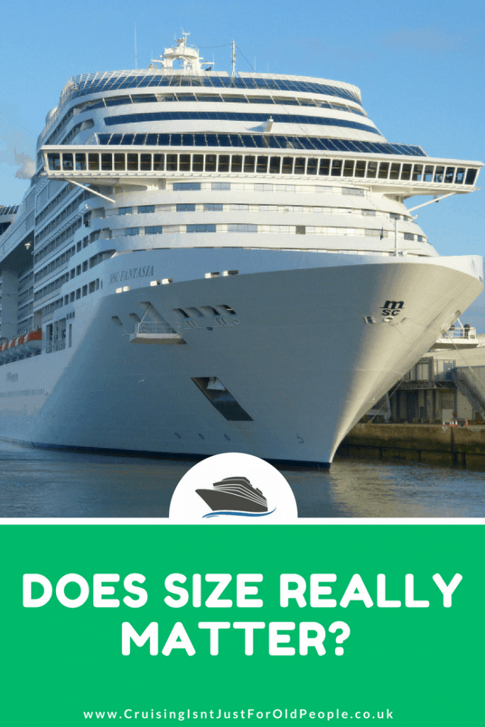 Cruise ship size