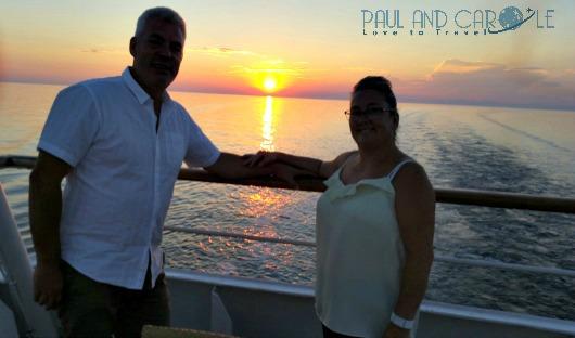 Sunset Thomson Celebration Cruise Ship Balcony
