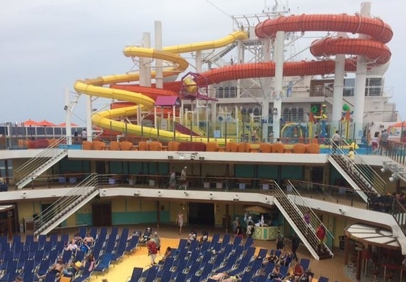 carnival cruise line waterpark