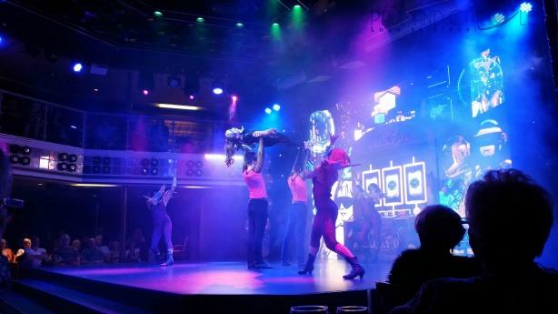Thomson Celebration Entertainment Dance Show