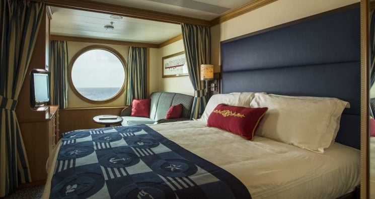 disney cruise rooms staterooms cabins oceanview inside balcony