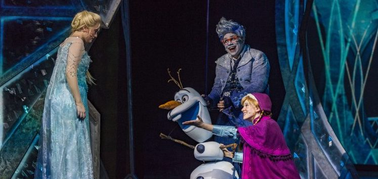 disney cruise line frozen theatre