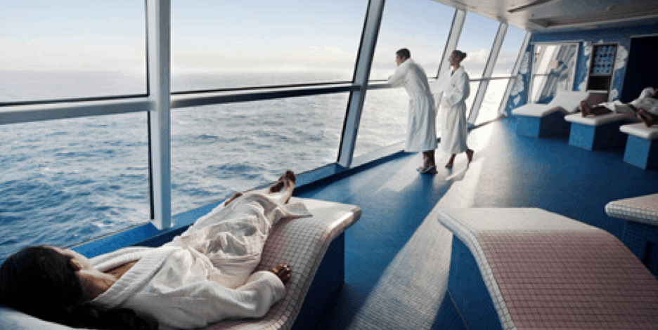 celebrity cruise line spa relaxation