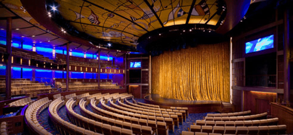 celebrity theatre cruise ship shows entertainment