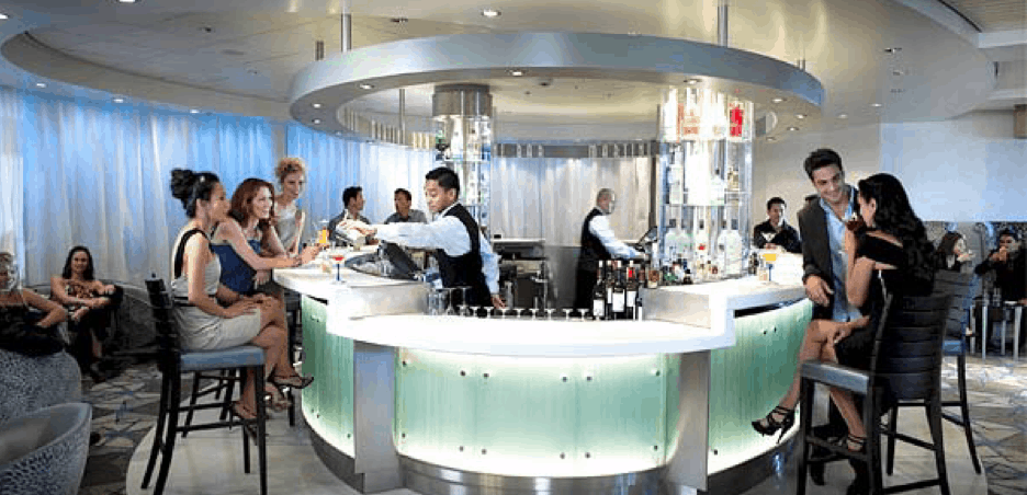 celebrity cruise ship bars drinks