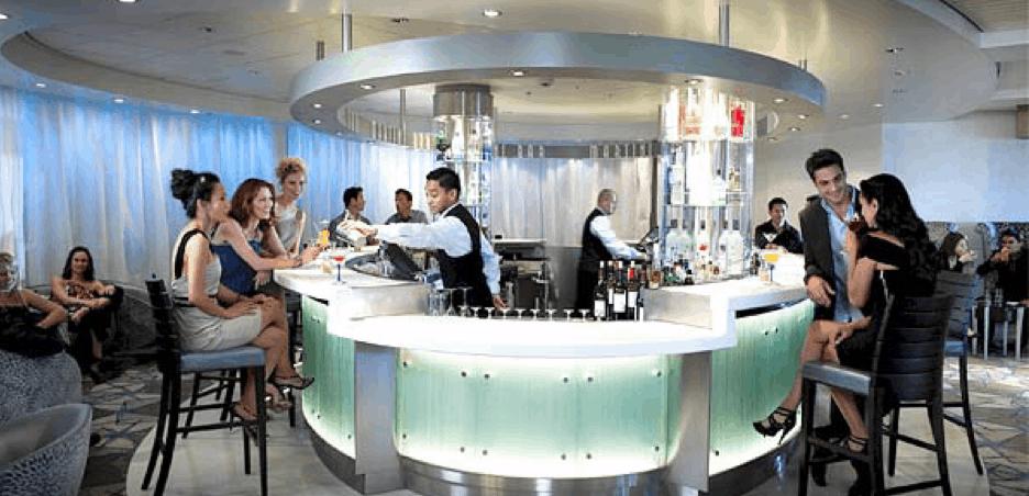 celebrity cruise ship bars drinks