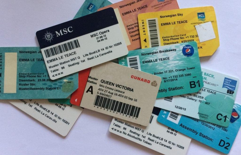 cruise keycard room key cruising msc cunard nil drinks package