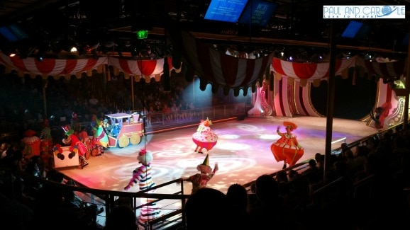 ice show royal caribbean ice skating rink