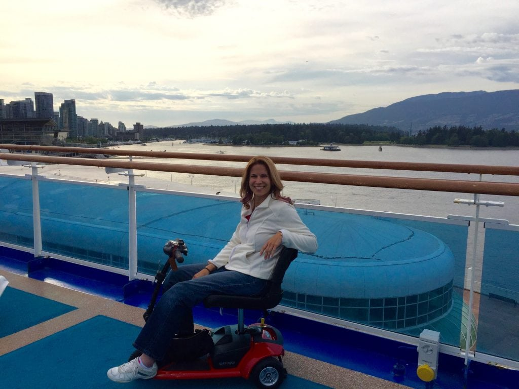 spin the globe wheelchair cruising cruise disability disabled