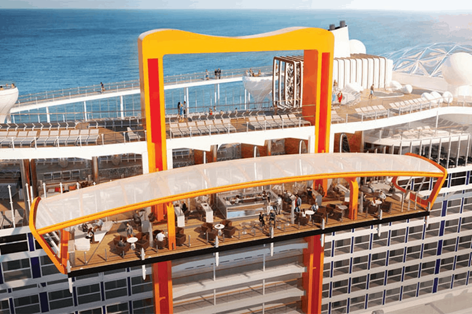 celebrity edge new cruise ship magic carpet