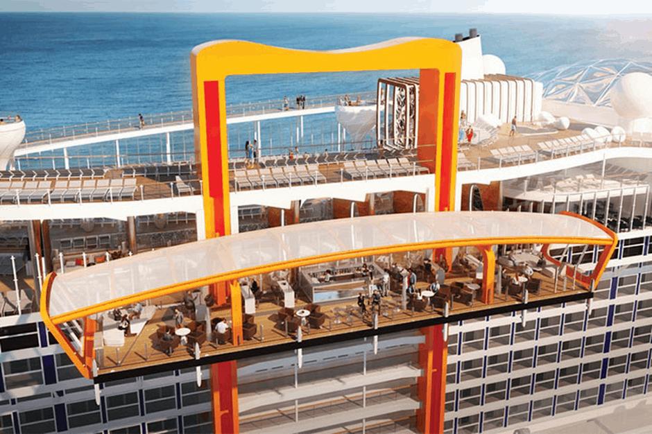 celebrity edge new cruise ship magic carpet