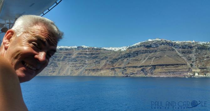 paul santarini greece cruise ship cruise line tender view