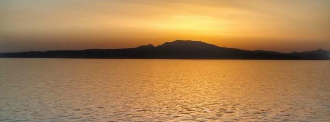 sunset sailing away santorini logo cruise ship cruise line sun