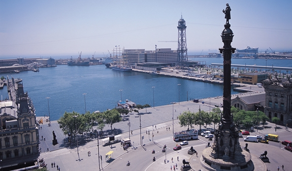 columbus monument barcelona cruise