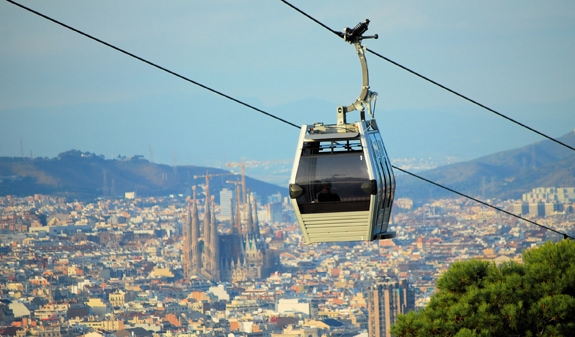 BARCELONA cruise cable car what to do