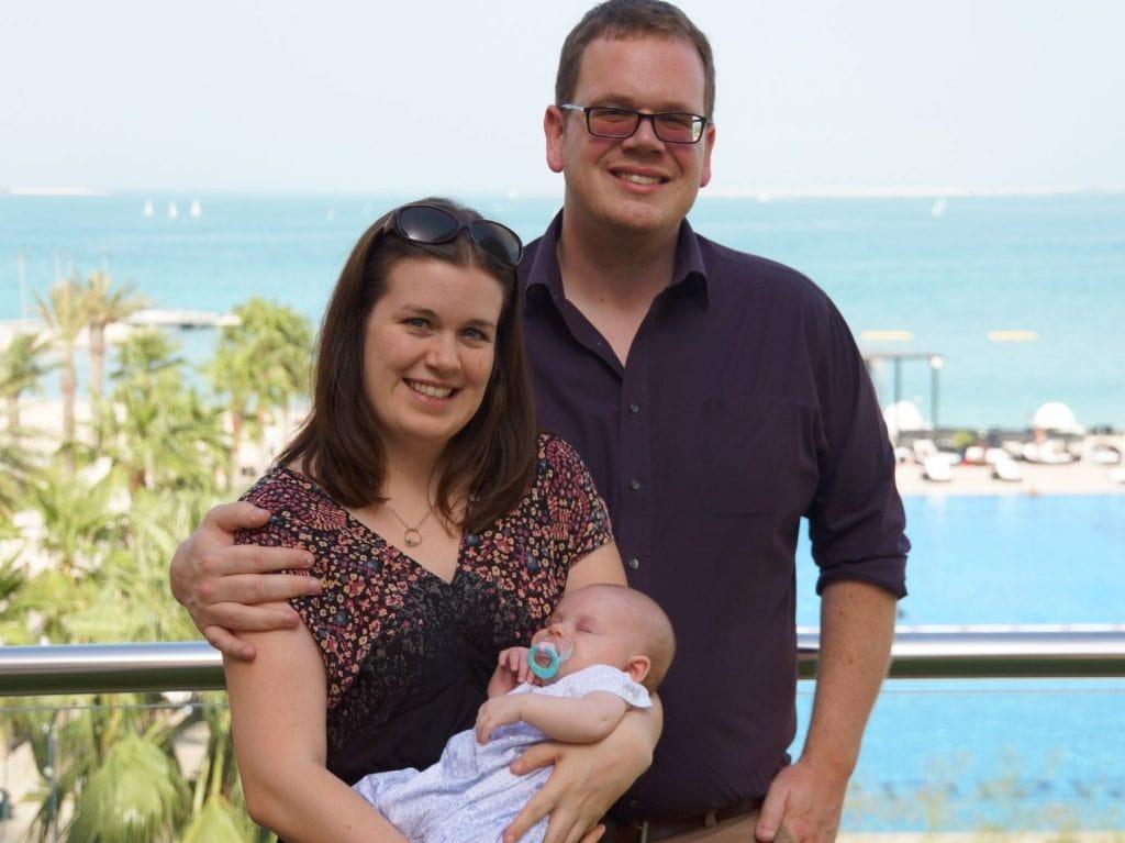 wandermust family cruise baby