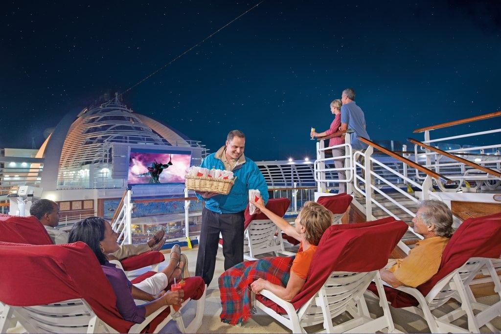 movies under the stars princess cruises popcorn