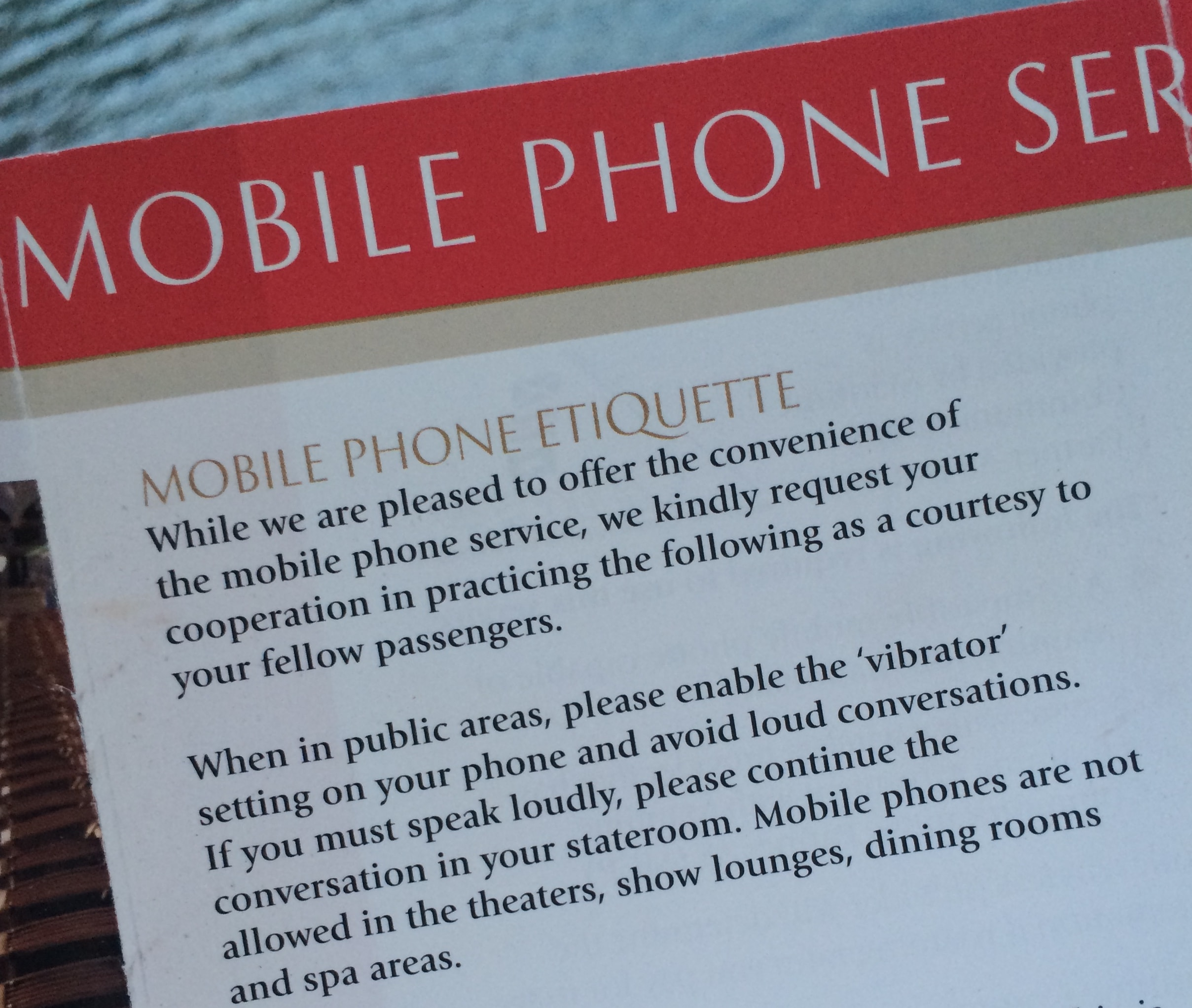 Put Your Phone In Vibrator Mode Cruising Isnt Just For Old People - Do cruise ships have cell service