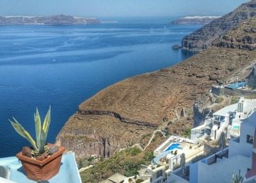 santorini greece cruise port guide what to do where to go cable car view