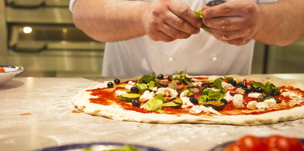 msc cruise pizza