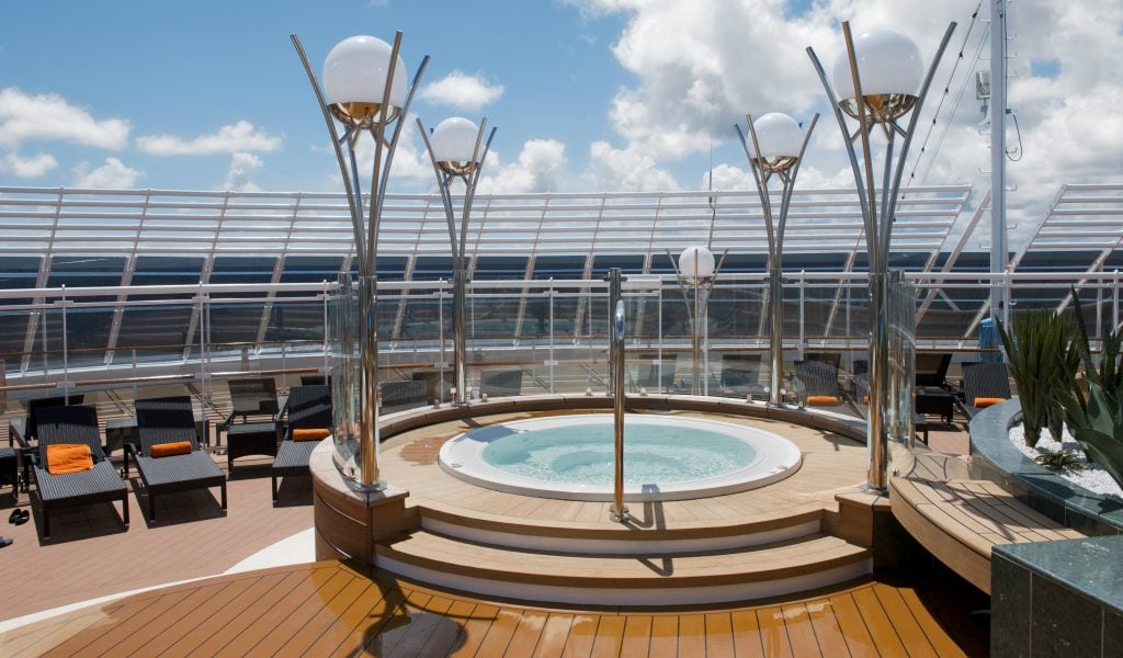 MSC divina pool top deck hot tub cruise