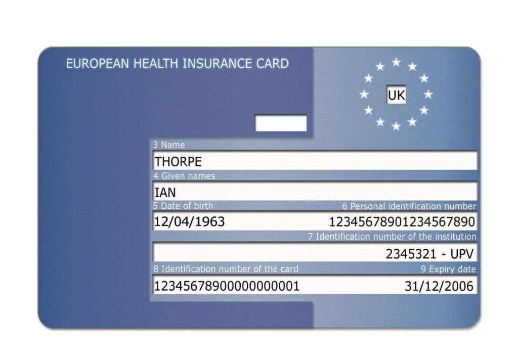 ehic card uk travel insurance