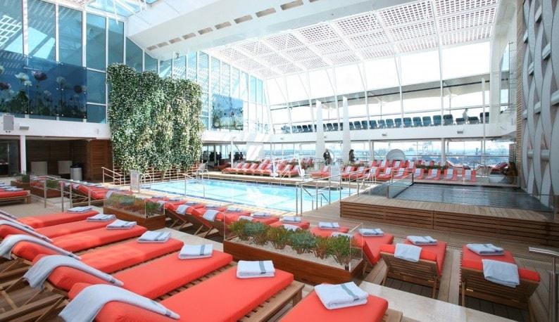 celebrity eclipse indoor pool