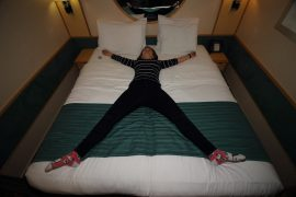 independence of the seas inside cabin bed