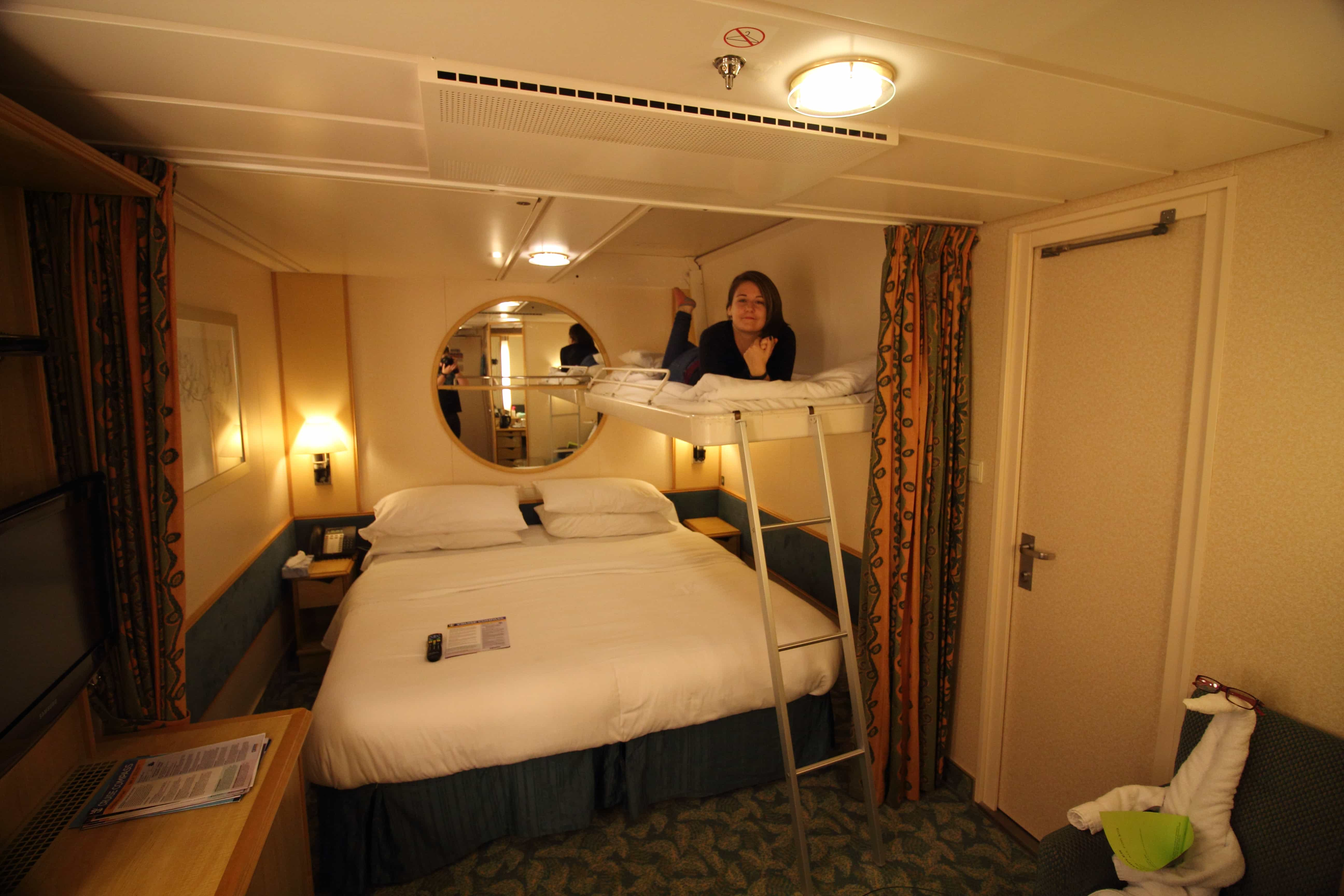 Independence Of The Seas Inside Cabin Three Four People Bunk Beds