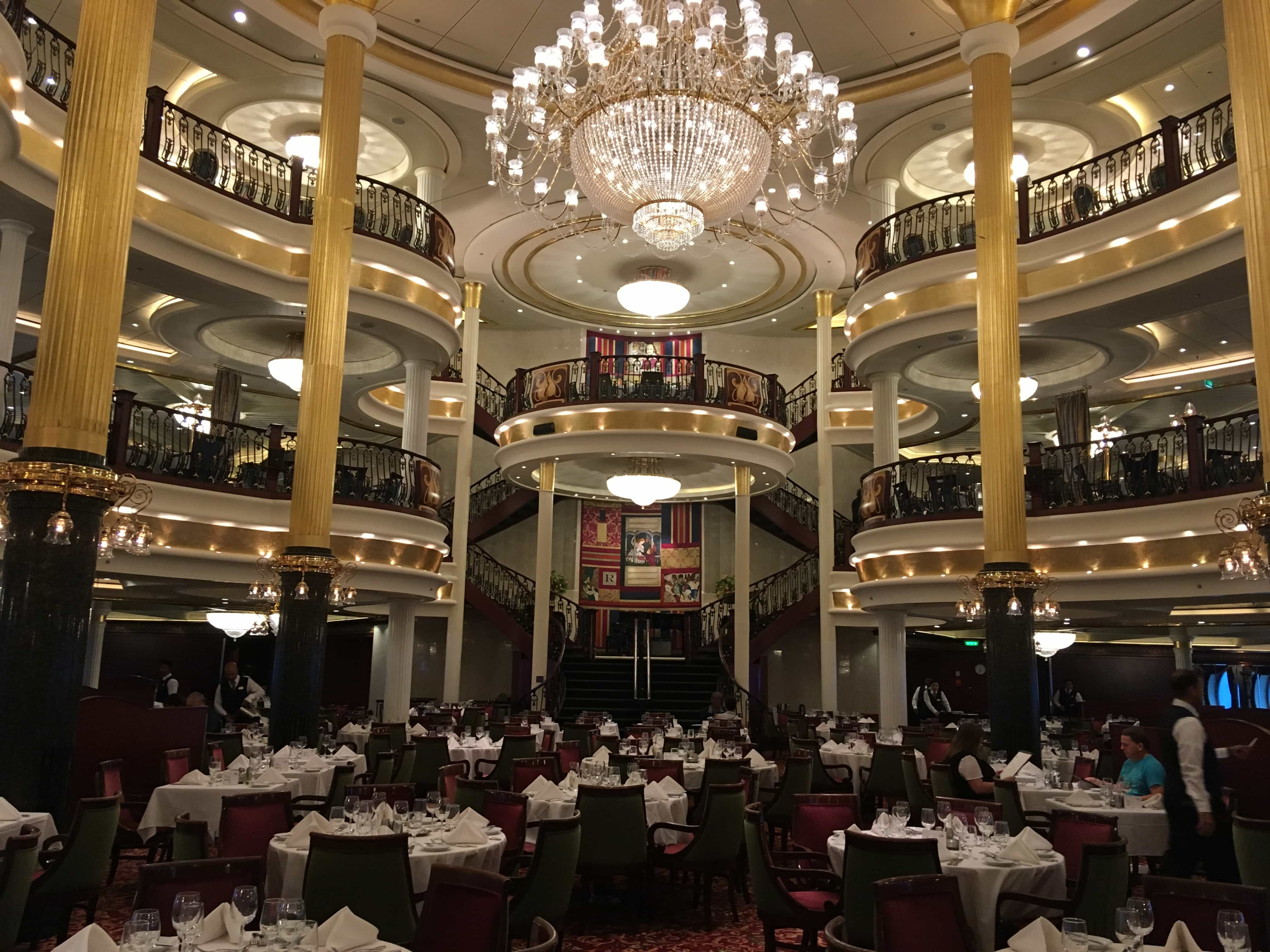 royal caribbean independence of the seas main dining room romeo and juliett