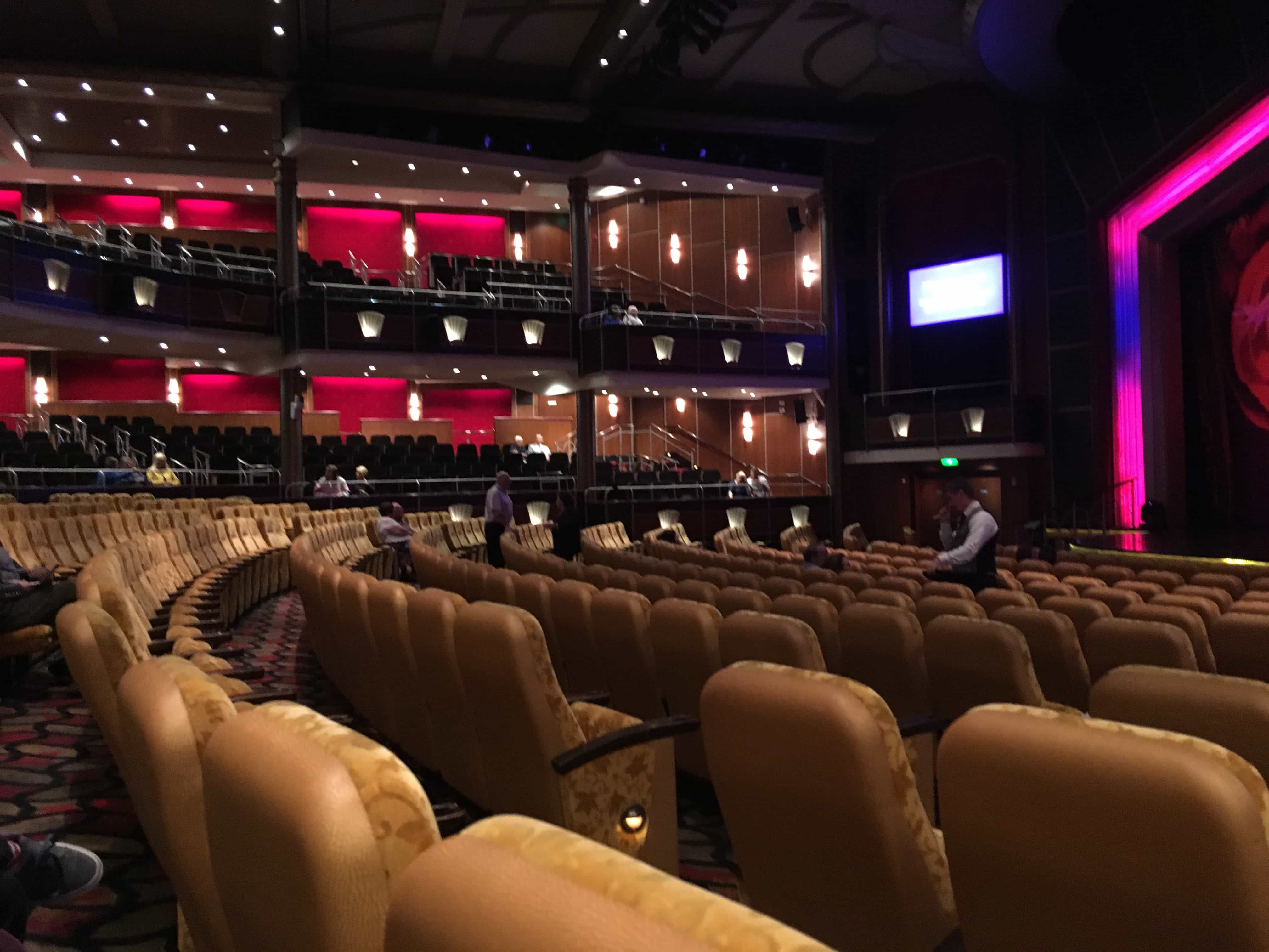 royal caribbean independence of the seas theatre