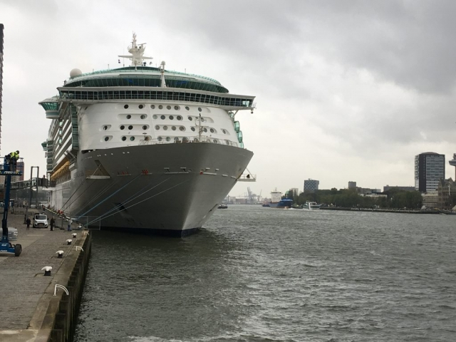 royal caribbean independence of the seas rotterdam