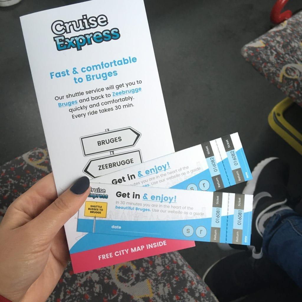 cruise express bruges zebrugge tickets