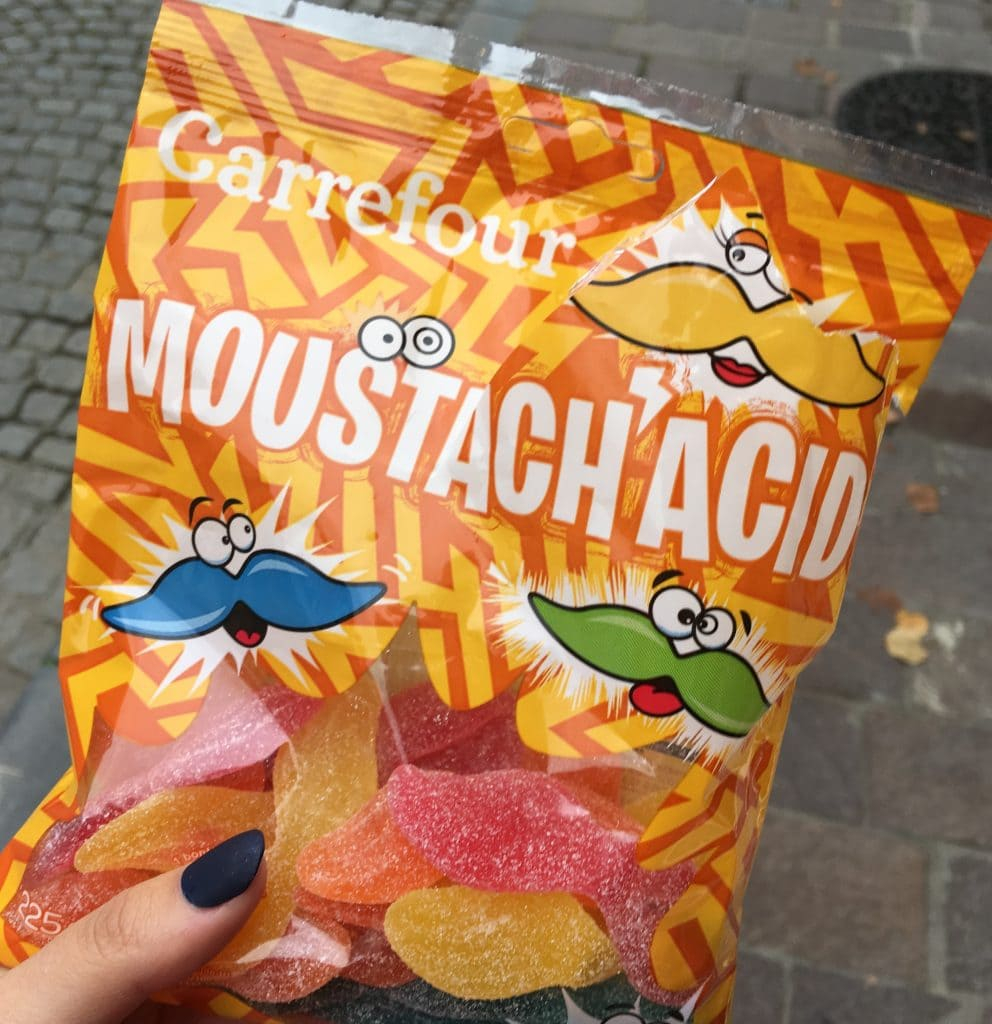 belgium sweets bruges moustach acid