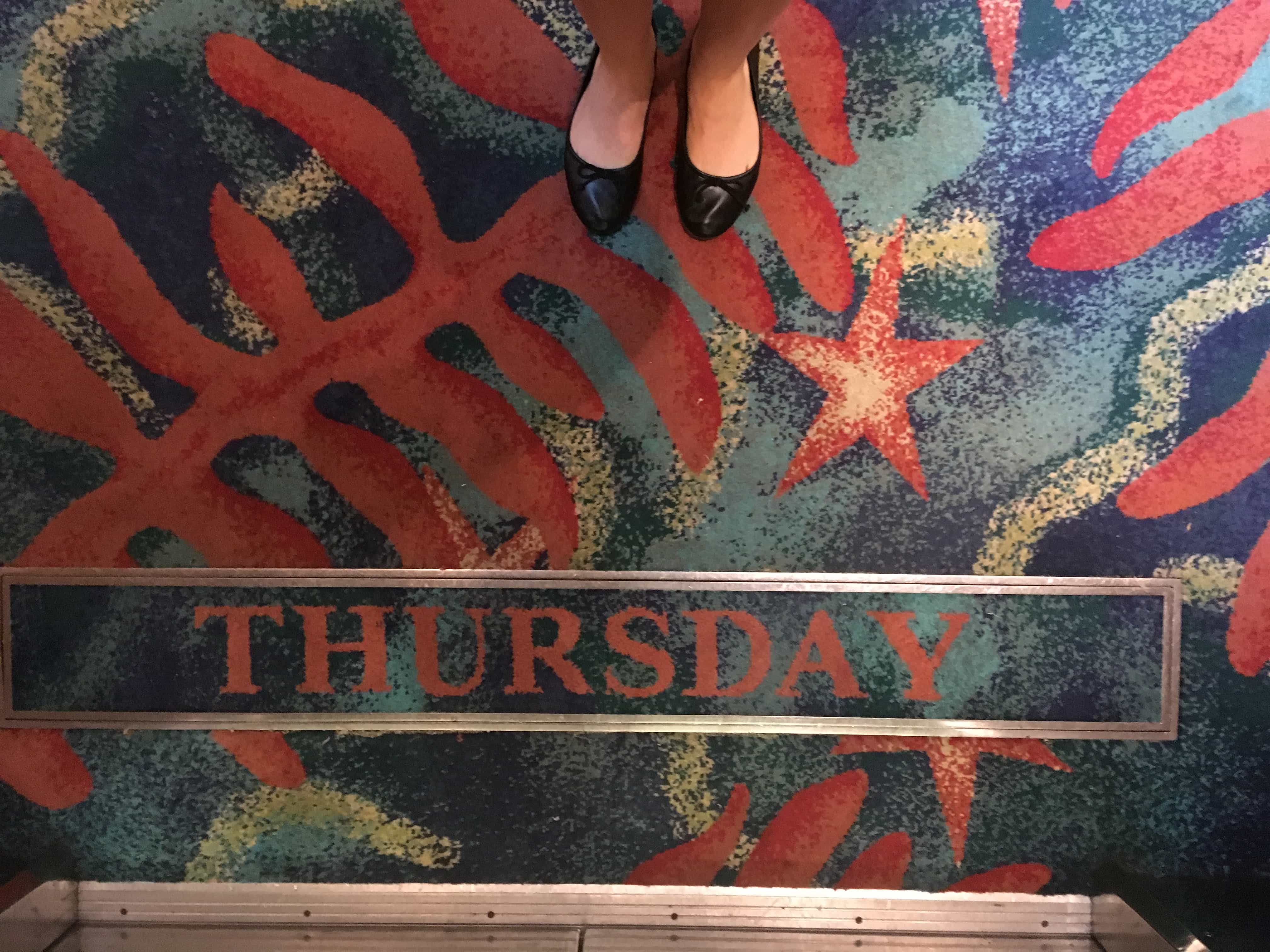 royal caribbean independence of the seas carpet day of the week thursday