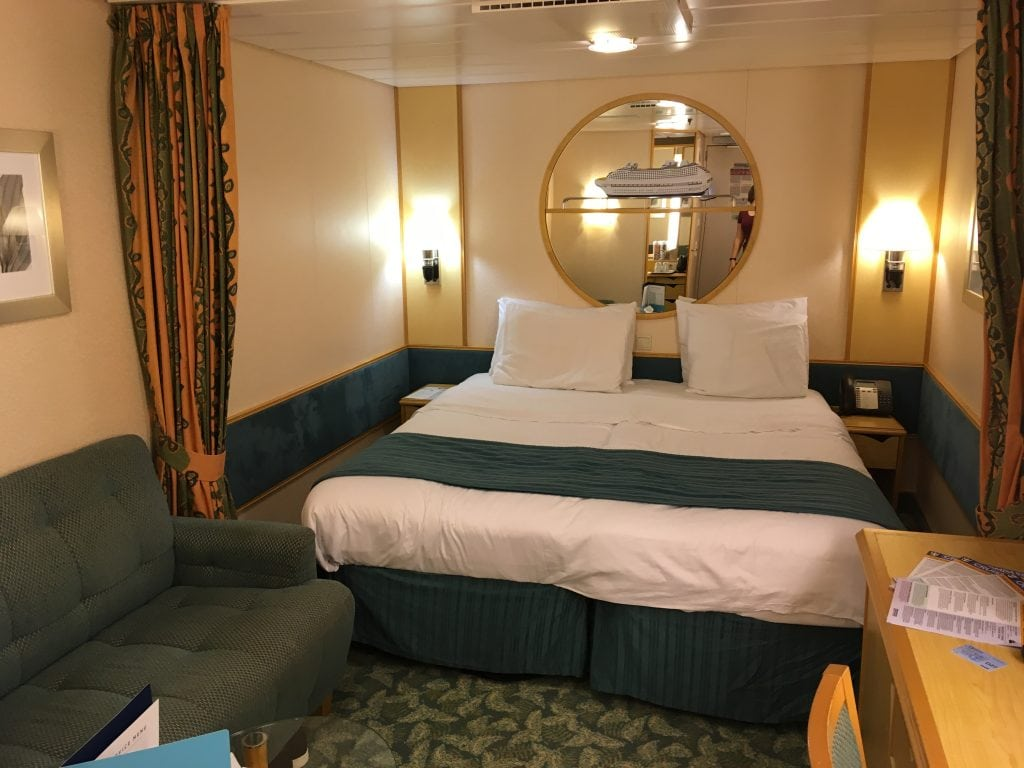 independence of the seas inside cabin royal caribbean cruise ship pre refit