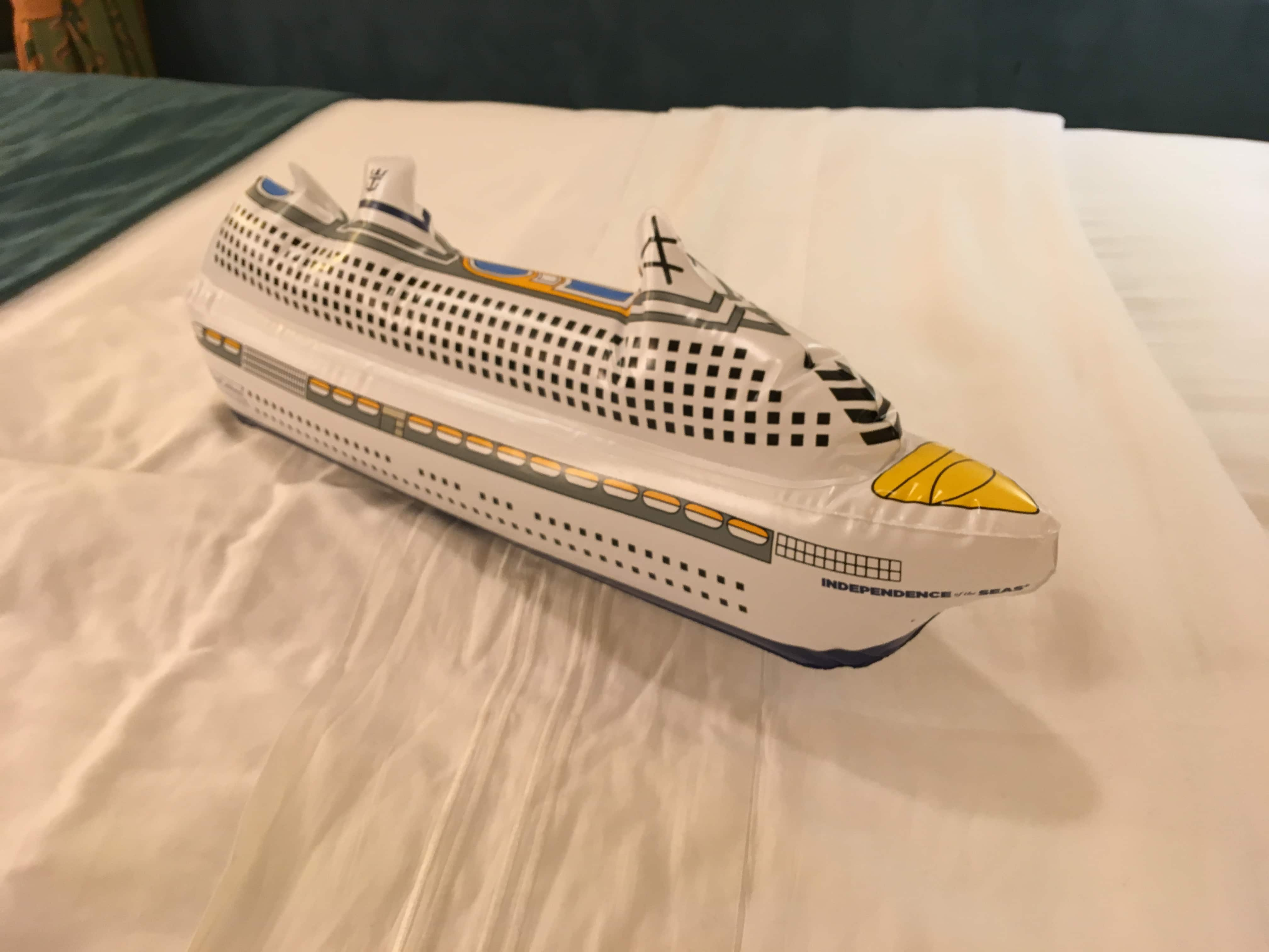 royal caribbean independence of the seas inflatable ship