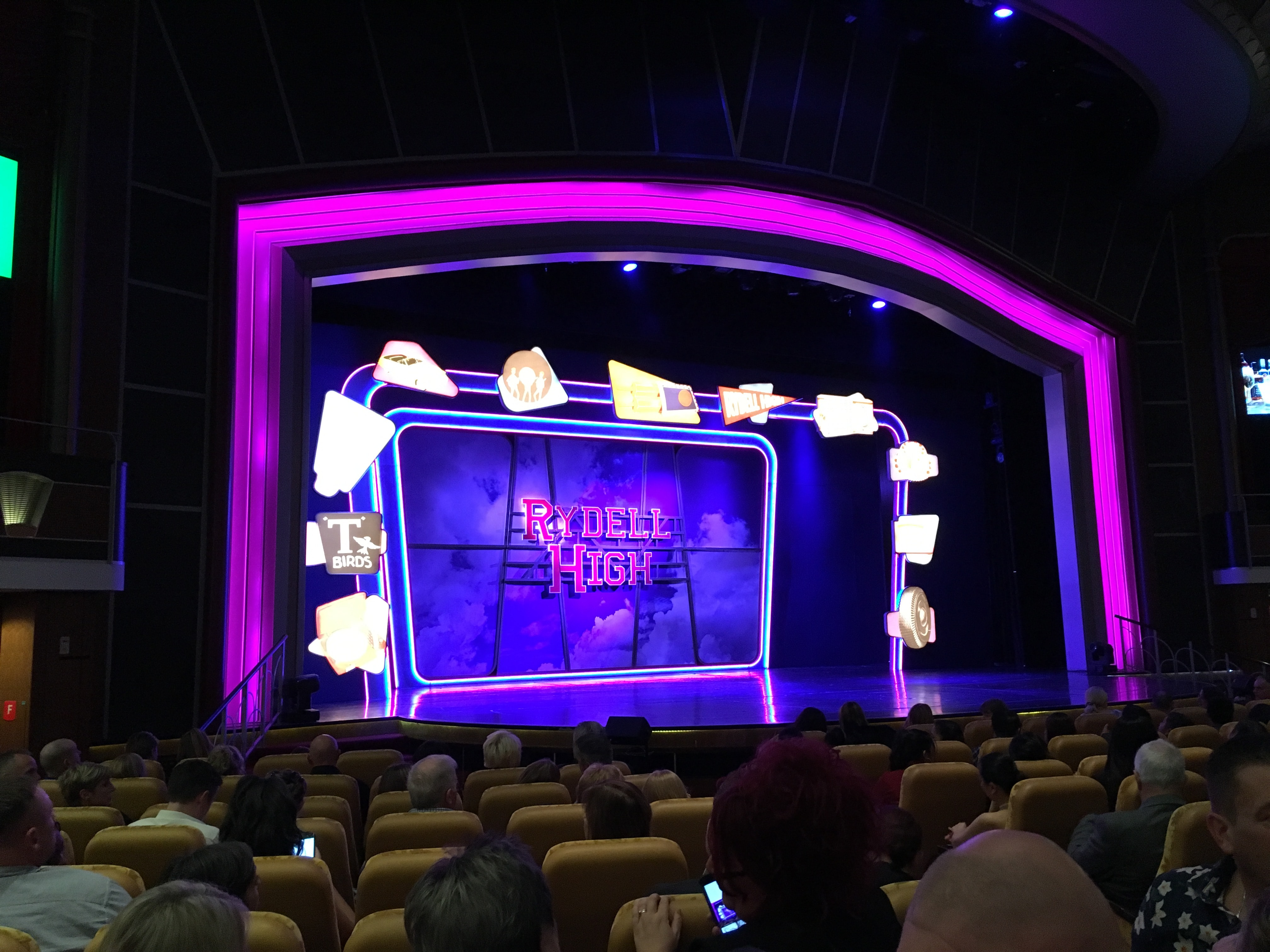 royal caribbean independence of the seas grease musical rydell high