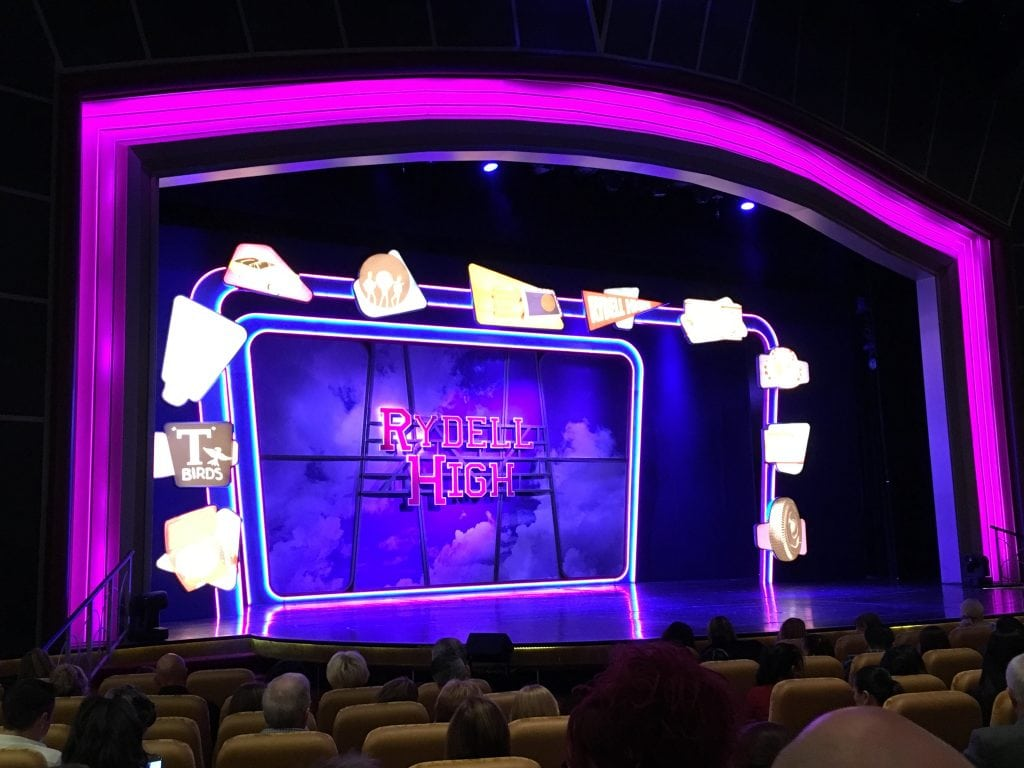 royal caribbean grease theatre show independence of the seas