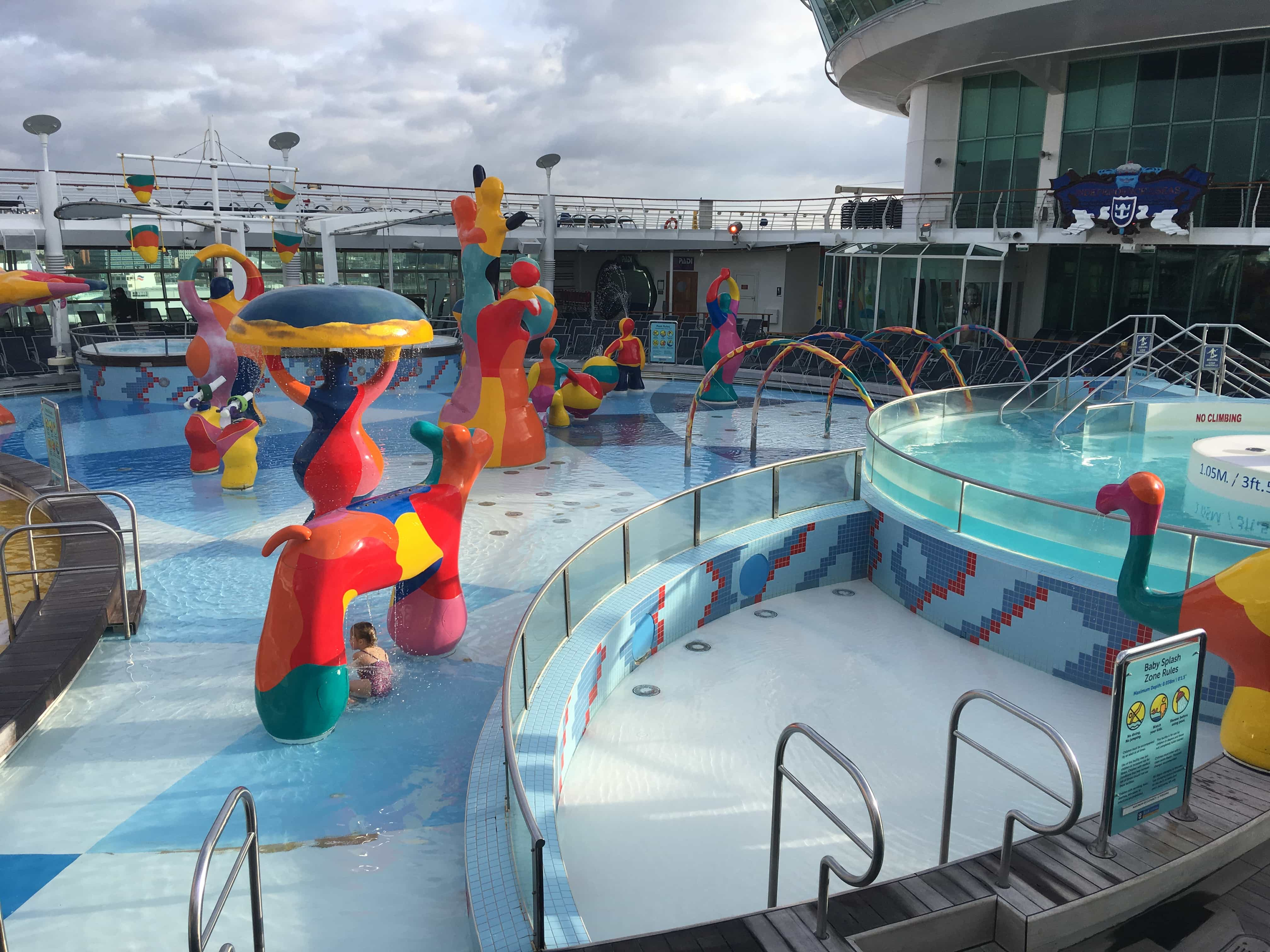 royal caribbean independence of the seas h20 zone kids swimming children