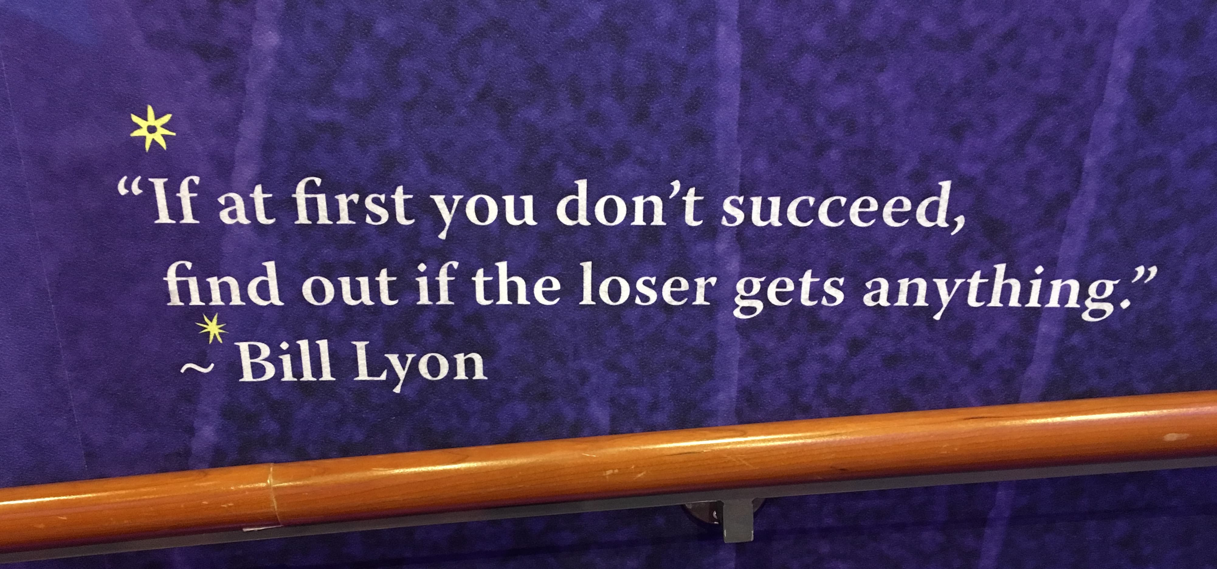royal caribbean independence of the seas bill lyon quote