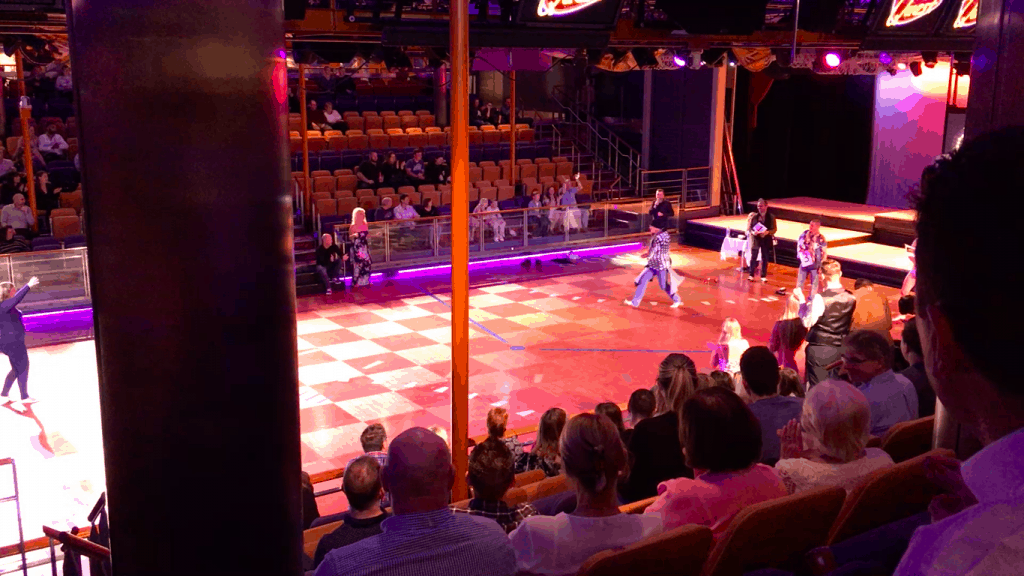 independence of the seas ice skating rink quest game show