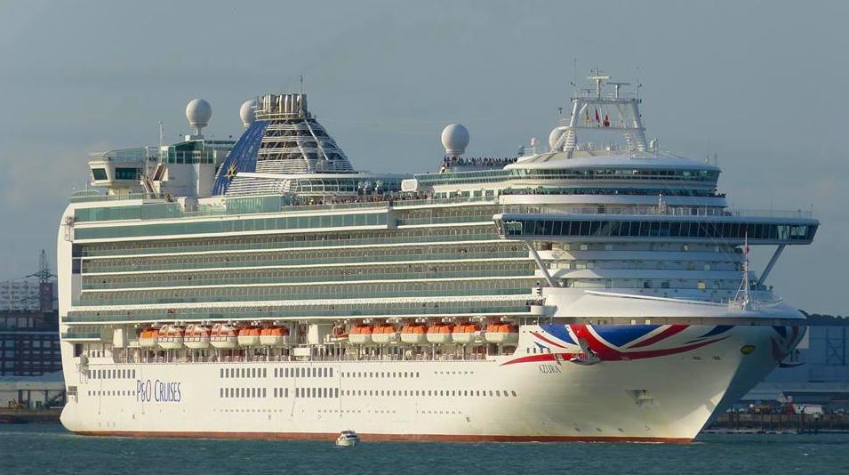 azura cruise ship p&o southampton